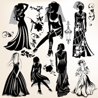 Femmes silhouettes collection