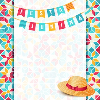 Festa junina background template
