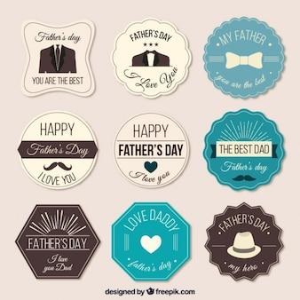 Fête des Pères labels collection