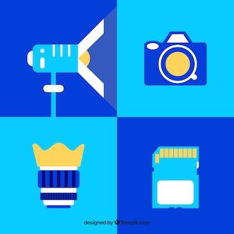 Flat équipement de photographie