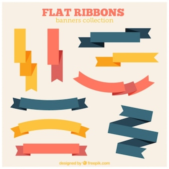 Flat rubans d'époque