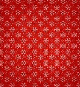 Flocons de neige avec redgreen fond