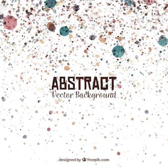 Fond abstrait avec des taches d'aquarelle