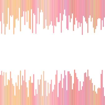 Fond abstrait rose à partir de lignes verticales - design graphique vectoriel