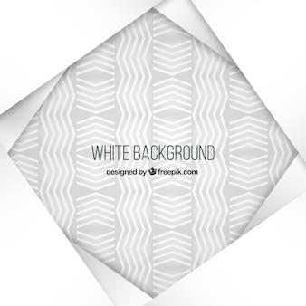 Fond blanc avec des lignes en zig-zag