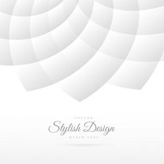 Fond blanc avec motif abstrait