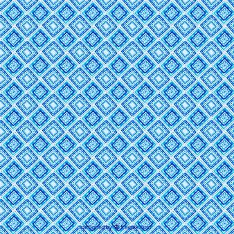 Fond bleu avec des formes abstraites aquarelle