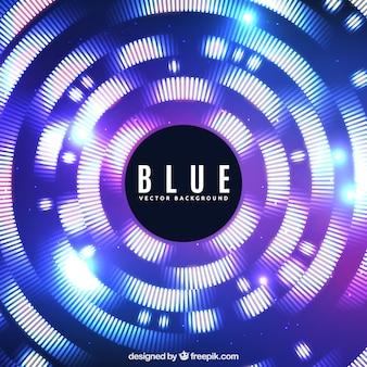 Fond bleu avec style moderne