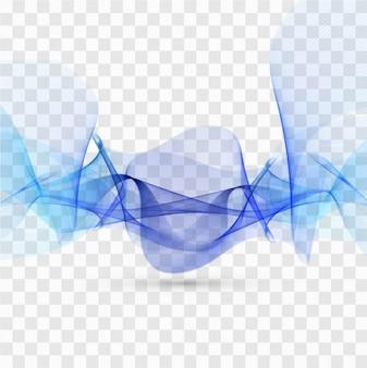 Fond bleu d'onde