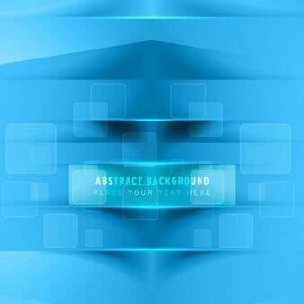 Fond bleu éclatant élégant