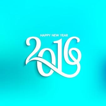Fond bleu Nouvelle année