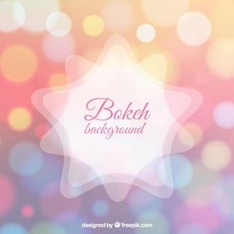 Fond brillant dans le style de bokeh
