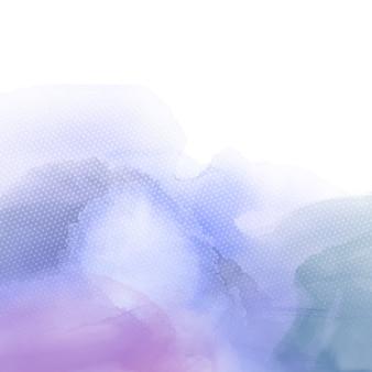 Fond coloré avec une texture aquarelle