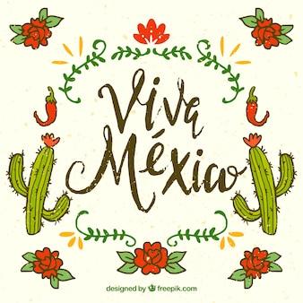 Fond créatif du Mexique