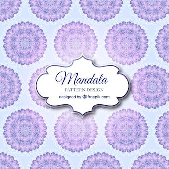 Fond d'écran du mandala moderne
