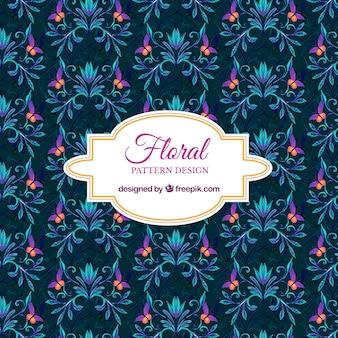 Fond d'écran floral sombre