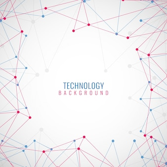 Fond d'écran technologique moderne et coloré
