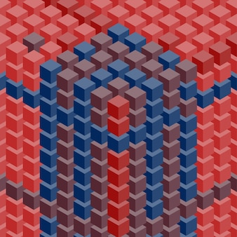 Fond de cubes