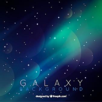 Fond de galaxie abstrait