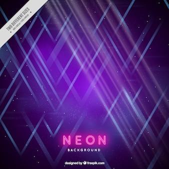 Fond de lumière néon