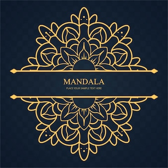 Fond de mandala