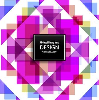 Fond de motif coloré moderne