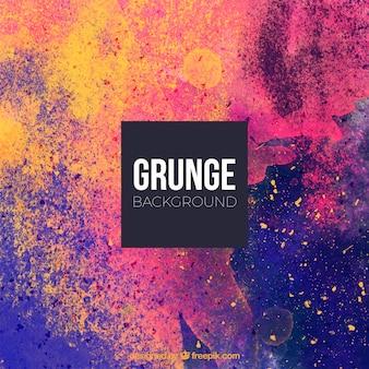 Fond de peinture grunge