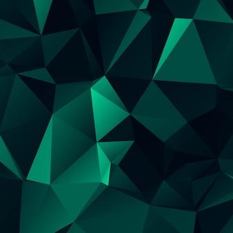 Fond de polygone moderne