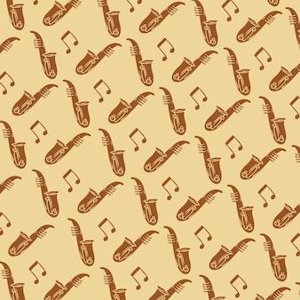 Fond de saxophone