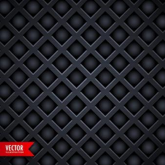 Fond de texture de forme de diamant noir