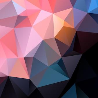Fond de triangle abstrait