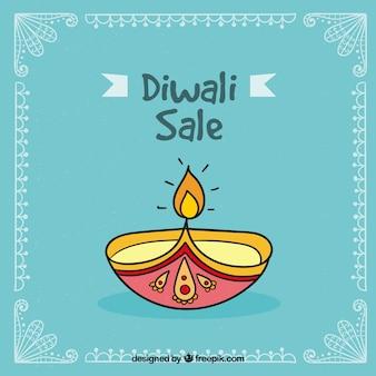 Fond de vente Blue Diwali