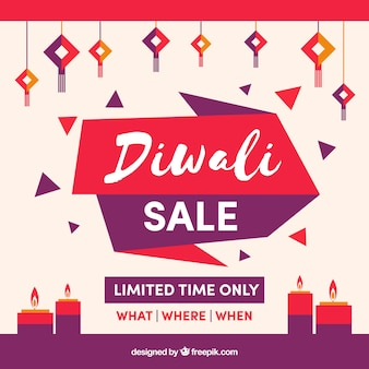 Fond de vente Creative Diwali