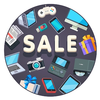 Fond de ventes technologiques