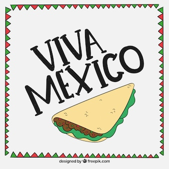 Fond de Viva mexico