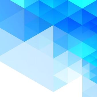 Fond géométrique bleu abstrait