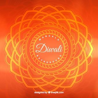 Fond géométrique de diwali