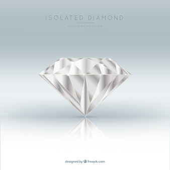 Fond impressionnant de diamant réaliste