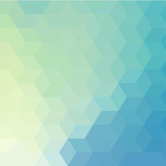 fond polygonale Bleu