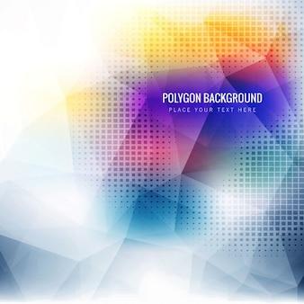 fond polygonale Colorful