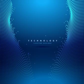 Fond Technologie Bleu