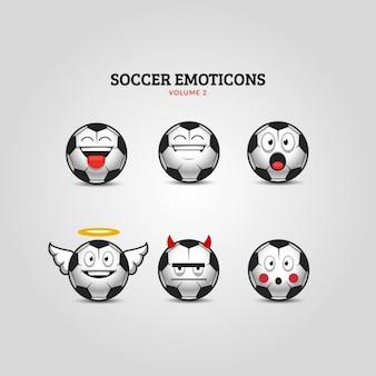 Football émoticônes Set