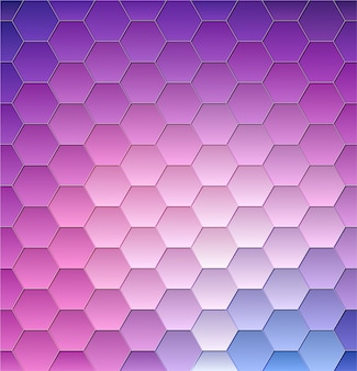 Forme abstraite violette