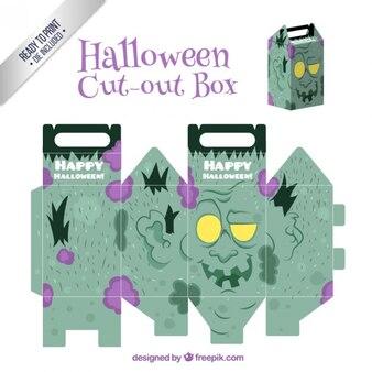 Frankenstein Cut-Out Box
