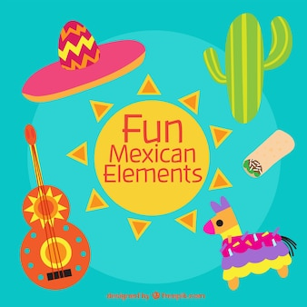 Fun éléments mexicains