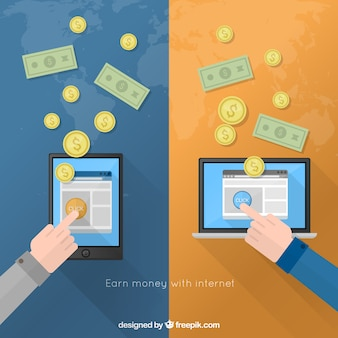 Gagnez de l'argent avec internet