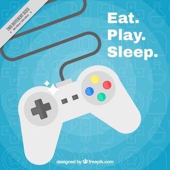 Gamepad fond