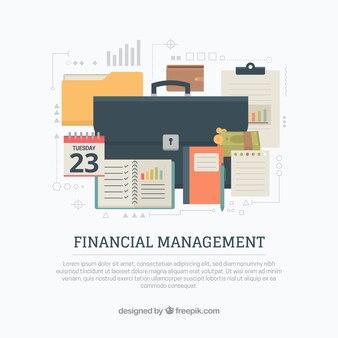 Gestion financière avec mallette