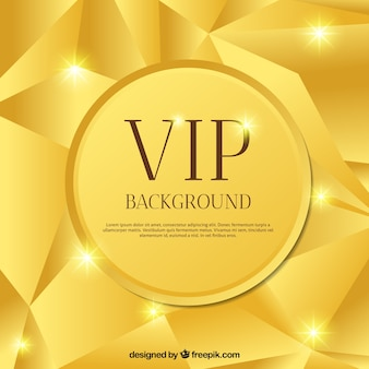 Golden brillant abstract vip background