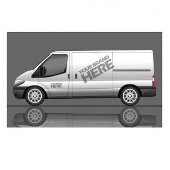 Grand van pour la marque